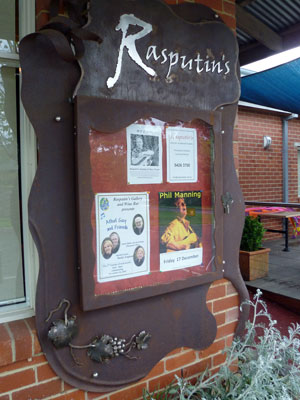 Rasputin Bar Sign